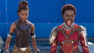 Lupita Nyong'o Can't Stop Shimmying in 'Black Panther' Gag Reel