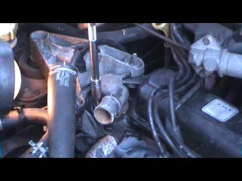 New Thermostat Amp Coolant Youtube