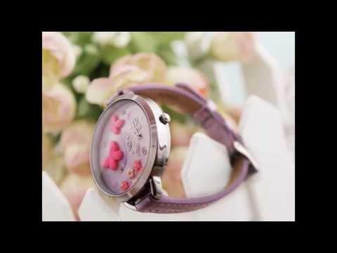 Χειροποίητο ρολόι χειρός Πεταλούδες - Fashionstars.gr