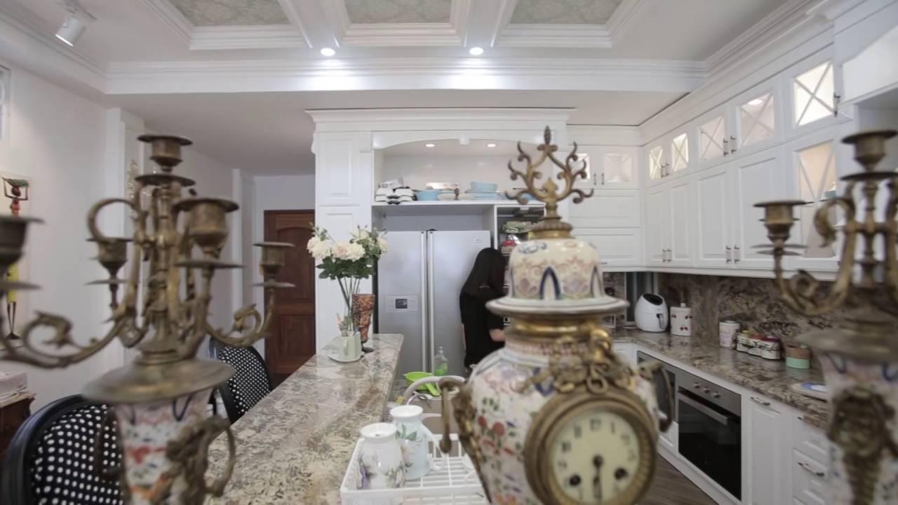 Nhà bếp hoàng gia, xu hướng thiết kế tủ bếp năm 2016 - YouTube