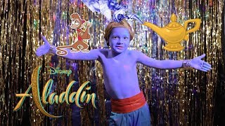Download lagu ALADDIN Genie song Friend Like Me by Martin at 8 years old