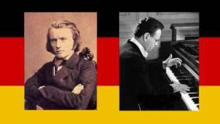 JULIUS KATCHEN plays Brahms - Rhapsody in G minor Op.79 No.2