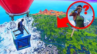 SNEAKIEST Hiding Spot In FORTNITE! (Hide And Seek)