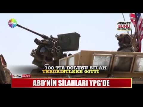 ABD'nin silahları YPG'nin eline geçti