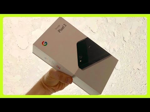 Google Pixel 2 Android Unboxing 🔴