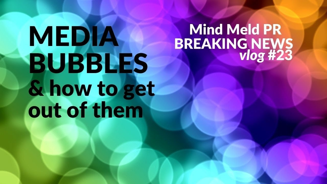 Pop your media bubble and think differently