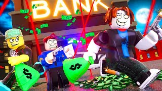 BIGGEST BANK ROBBERY | ROBLOX