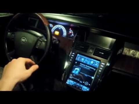 Расширенный обзор мультимедии Nissan Tiana J31 2007 (часть2)