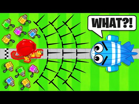 100x MODDED SPEED Engineer In Bloons TD Battles