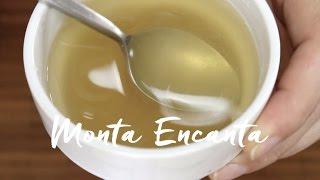 Como hidratar a gelatina Incolor