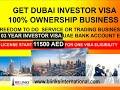 2018 UAE- Dubai 03 Years Investor visa - Company Setup - Business Setup in Dubai Start business