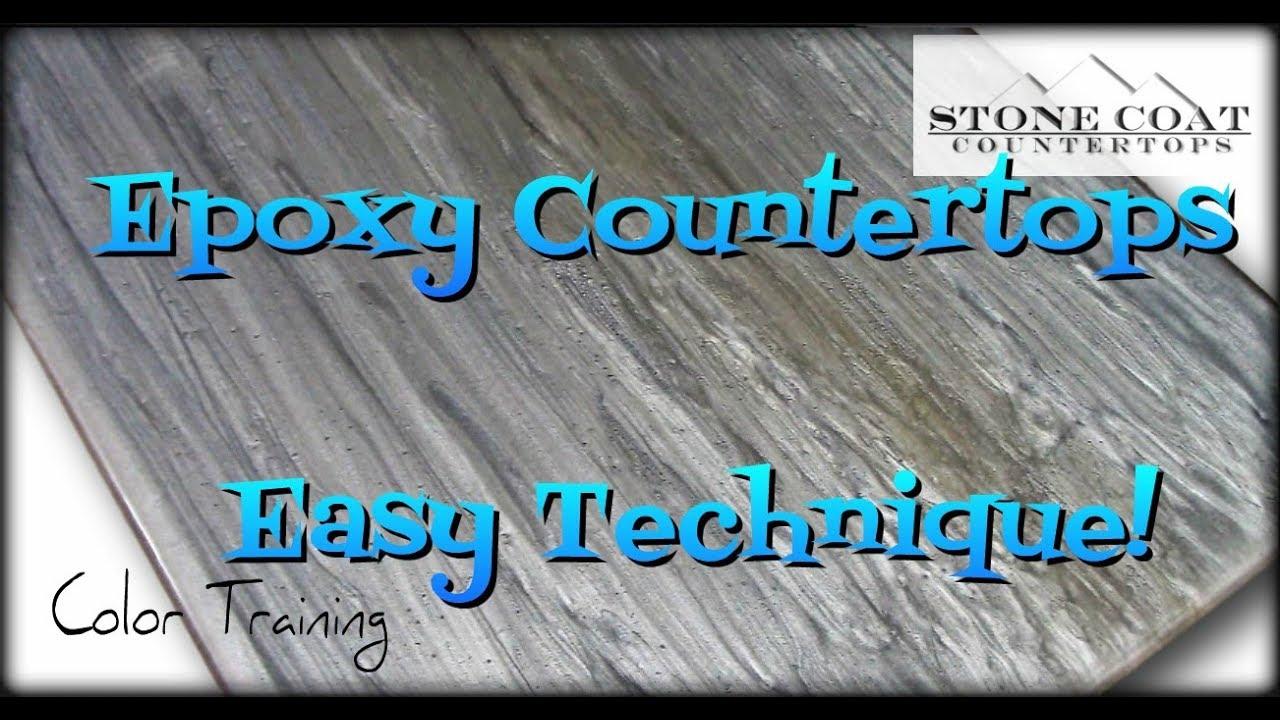 Epoxy Countertops Easy Technique