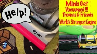 Minis Get Vacuumed - Thomas and Friends World's Strongest Engine