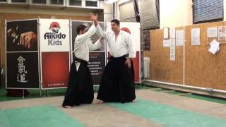 katadori menuchi yonkyo [AIKIDO]  basic technique