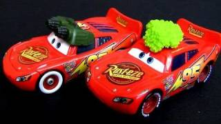 Cars Tumbleweed Lightning Mcqueen Nightvision Raceorama Disney Pixar Diecast Toys collector