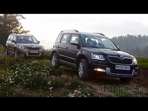 2014 skoda yeti 4x2 4x4 first drive review india youtube. Black Bedroom Furniture Sets. Home Design Ideas