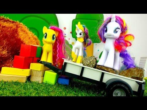Игры для девочек ЛИТЛ ПОНИ! Детские игрушки и игры пони ДРУЖБА это чудо. Видео для детей про дружбу