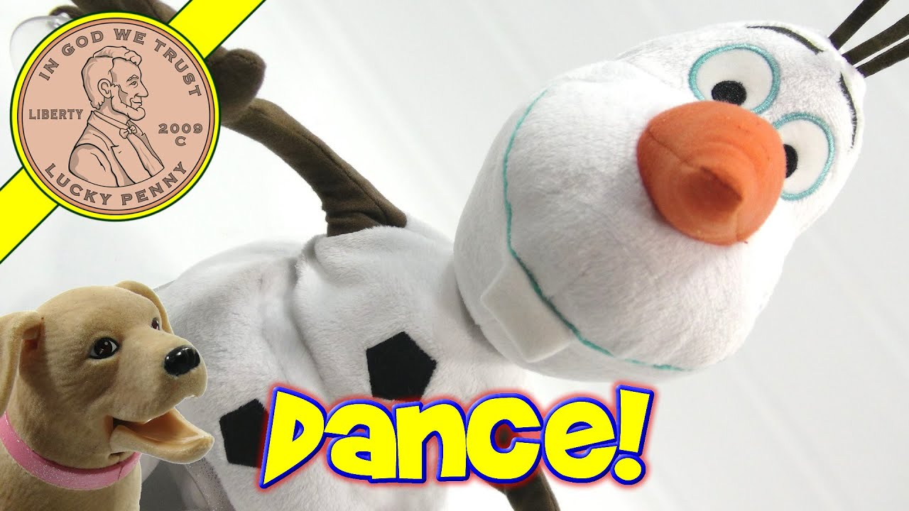 Disney's Frozen Dance & Sing Olaf - Disco Dancing With Olaf!