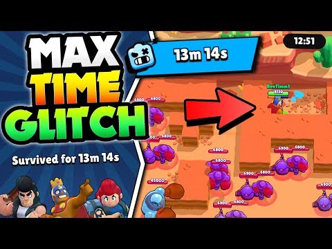 NEW ROBO RUMBLE GLITCH FOR MAX 13:14 TIME IN BRAWL STARS! HOW TO BEAT ROBO RUMBLE! Mp3