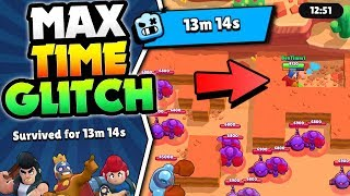 NEW ROBO RUMBLE GLITCH FOR MAX 13:14 TIME IN BRAWL STARS! HOW TO BEAT ROBO RUMBLE!