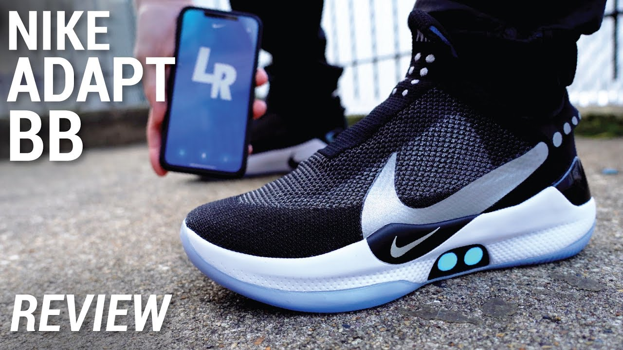 Wearing The Self Lacing Nike Adapt Bb For A Week Without Charging Lifestyle Review Youtube