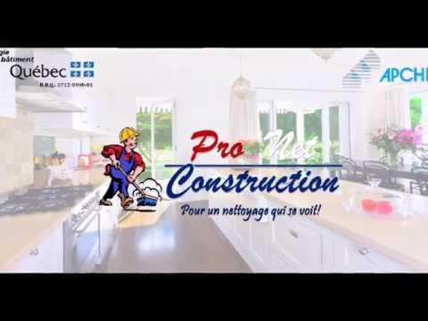 pro net construction nettoyage apres construction