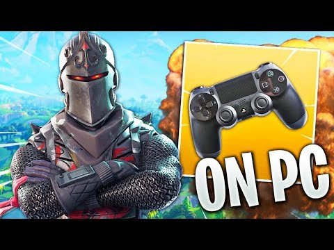 Using a CONTROLLER on PC Gives You AIMBOT!! (Fortnite Battle Royale)