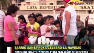 CARTAVIO RECORD   SHOW NAVIDEÑO BARRIO SANTA ROSA