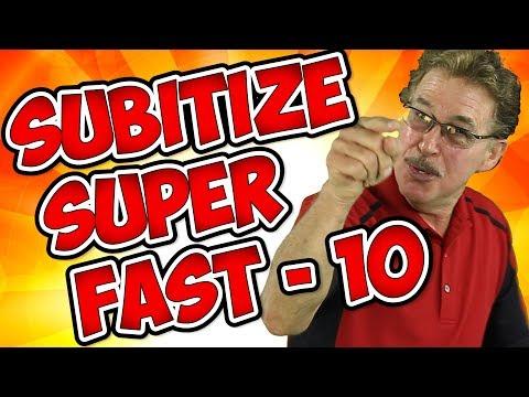 Subitize Super Fast | Subitize to 10 | Jack Hartmann
