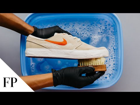 How to Clean White Sneakers in 2019