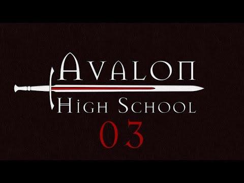 Avalon High School Roll4It 03 THE VAULT AND THE WELL  Arthurian Legend Monsterhearts