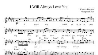Will Always Love You Whitney Houston