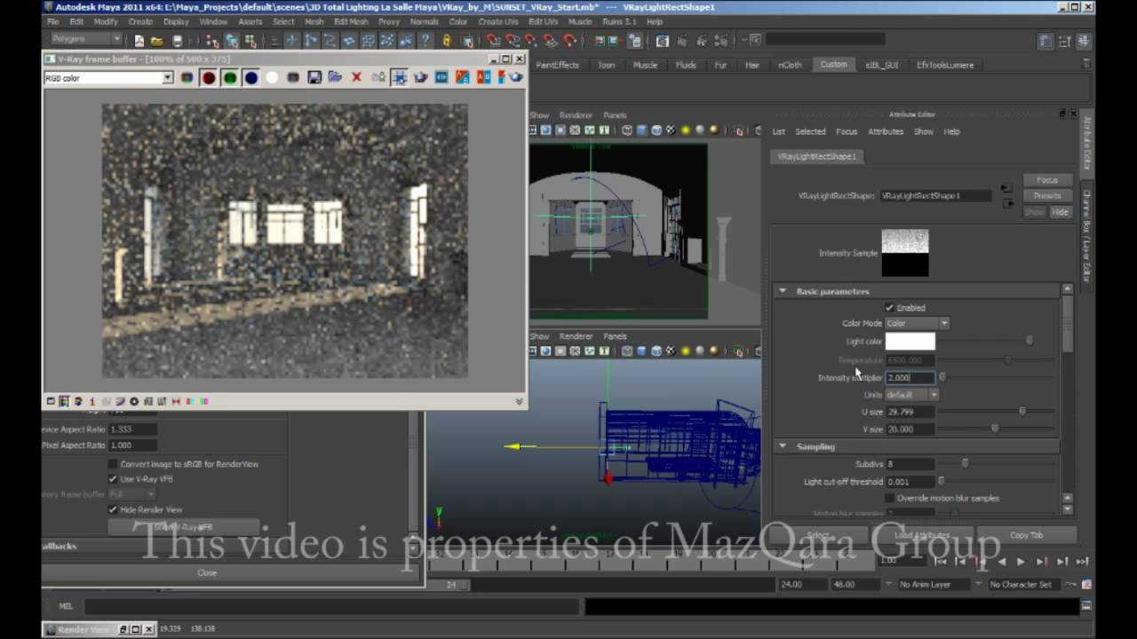 Proof Concept Of Lighting Method Conversion Of Vray For