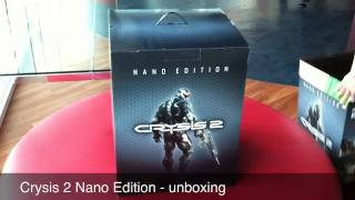 Crysis 2 Nano Edition - Unboxing!