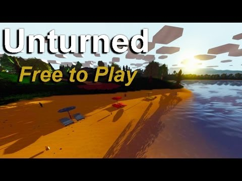 Unturned | DAYZ MEETS MINECRAFT