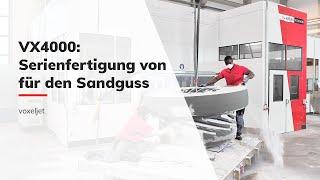 VX4000 Sandprozess