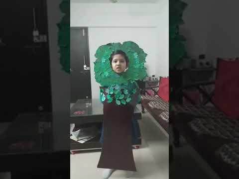 Poem on tree by Rimisha