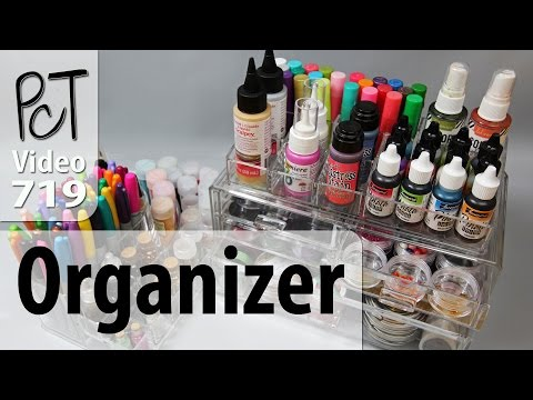 MelodySusie Acrylic Organizer Used For Craft Supplies