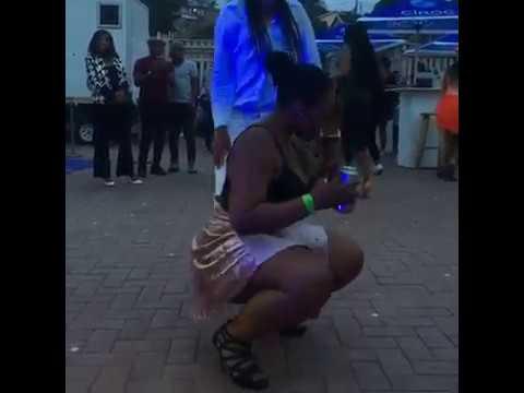 Zodwa Wabantu Challenged At Eyadini Lounge