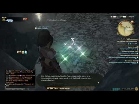Final Fantasy XIV - Eureka Pagos Level 23 Quest Location