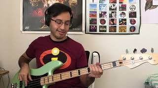 The 1975 - It's Not Living (If It's Not With You) Bass Cover (Tab in Description)