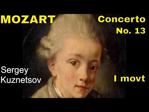 Mozart, piano concerto No. 13 in C major K. 415, 1st movt - Allegro