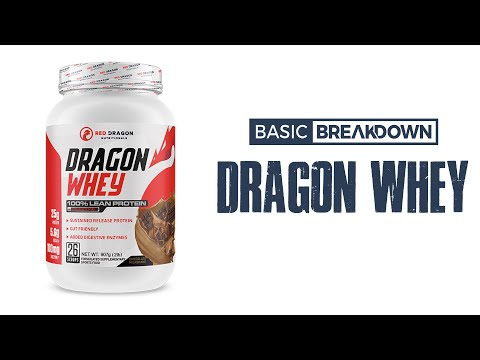 Red Dragon Nutritionals Dragon Whey Protein Powder Supplement Review | Basic Breakdown