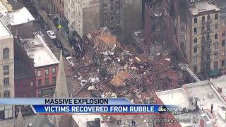 Two Bodies Recovered From New York City Explosion Site