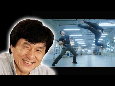 JACKIE CHAN VS BRAD ALLAN style FIGHT
