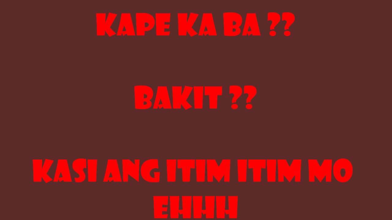best pickup lines ever tagalog