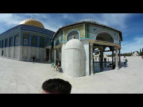 Dome of the rock, Jerusalem 360 video
