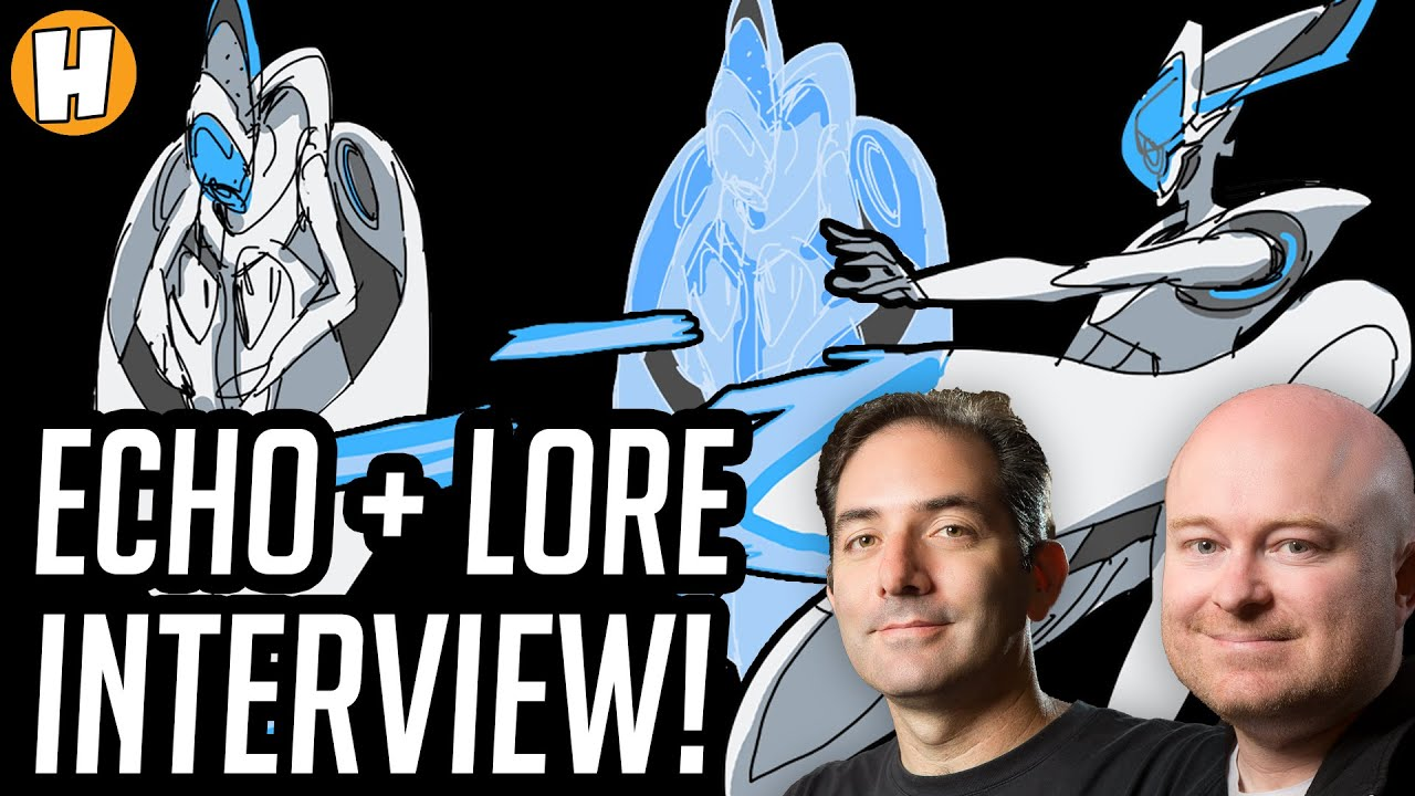 Download Overwatch - Echo + Lore Developer Interview! (Jeff Kaplan, Geoff Goodman!) | Hammeh