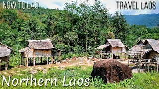 Travel Laos:  Northern Laos - Looking for food in Muang Xai then on to Namkat Yorla Pa - Now to Lao