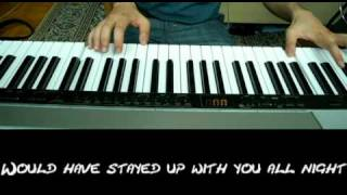 The Fray - How to save a life Piano Cover with Lyrics by Sam Masghati